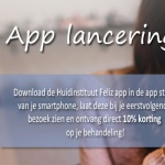 App lancering Huidinstituut Feliz!