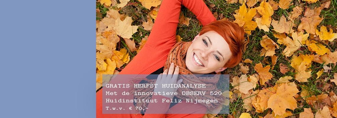 Gratis HERFST huidanalyse met de innovatieve OBSERV 520!