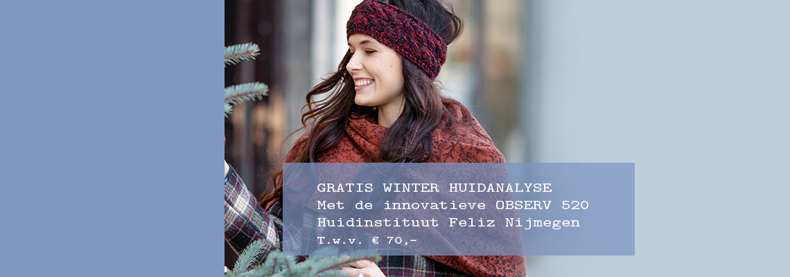 Gratis WINTER huidanalyse!