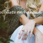 Hals, decolleté en handen… ondergeschoven kindjes